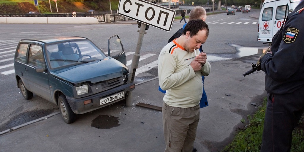 Moscow Drunk Driving Accident